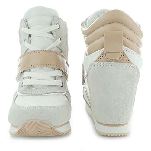 Calvin Klein Jeans Viridiana Damen Sneaker Weiß