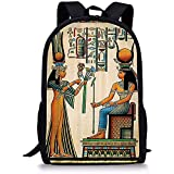 Reiserucksack,Salabomia Schulrucksack Egyptian Goddesses Epic Surprise Ancient Bookbag Lässige...