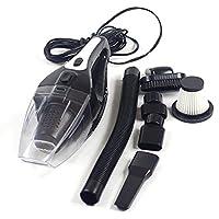 Aspirateur de voiture, LEACREE 12V 120W sèche/humide Aspirateur à main pour Voiture Automatique 5M Cordon d'alimentation(Noir)