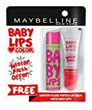 #10: Maybelline New York Baby Lips, Winter Flush, 4.4g and Baby Lips, Watermelon Smooth, 4g