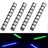 LITEBEE 4PCS Matek Drone LED Light, RGB 2812 LED Strip Slim Board 5V for ZMR250 QAV250 250 280 Mini FPV Racing RC Drone Quadcopter