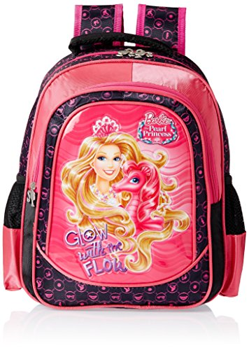 Barbie-Pink-and-Black-Childrens-Backpack-EI-MAT0022