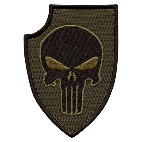 olive-drab-green-punisher-shield-us-navy-seals-devgru-morale-embroidered-sew-iron-on-patch