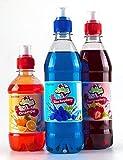Blaue Himbeere & Erdbeeren Slushie Sirupe, w/GRATIS Orange Slush Welpe