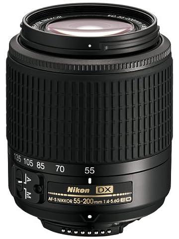 Nikon AF-S DX 4,0-5,6/55-200 ED schwarz (Nikon D2xs)