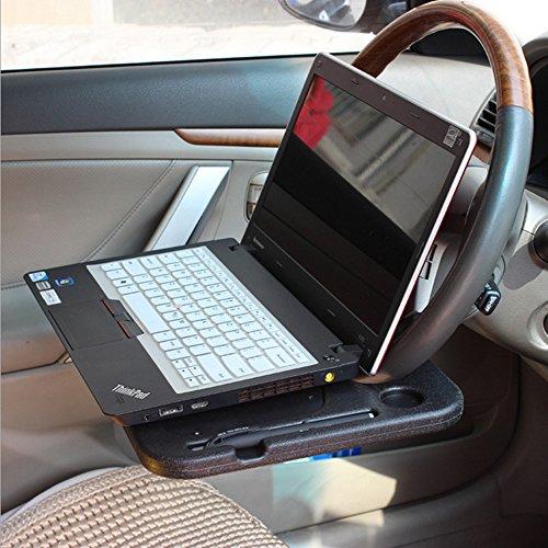 OFT Multifunktions Auto-Lenkrad Ablagetisch / Laptoptisch KFZ-Universal Mehrzweckablage für Schreiben, Essen, Trinken
