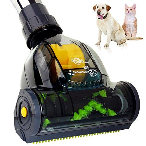 Cepillo específico para pelos de mascotas compatible con casi todos los modelos de aspiradora - adecuado para tubos de aspiradora de Ø 32 mm