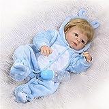 Oshide volle Silikon Körper Real Touch Baby waschbar lebensechte Reborn Puppen realistische Neugeborenes Baby Doll