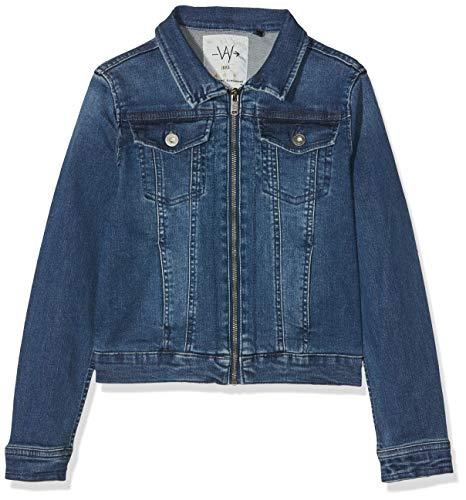 IKKS Junior Veste Denim Bleu, Americana Niñas, Azul (Blue Vintage 87), X-Small