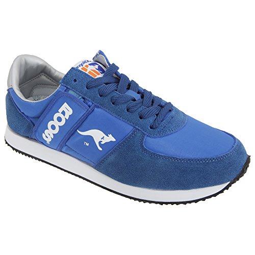 Kangaroos Combat, Baskets mode homme Blu (Royalblue)