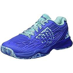 Wilson WRS323430E, Zapatillas de Tenis Mujer, Azul (Amparo Blue / Surf the Web / Aruba Blue), 41 EU