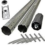 Sol Royal Rohrmotor Zubehör Paket: Montagehilfe für Rolllädenmotoren - Komplettset für Rollläden bis 1,5 Meter Breite