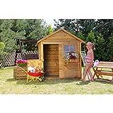 Spielhaus Kinderspielhaus Holz Gartenhaus BV-VERTRIEB Spielhütte aus Holz für Kinder - (3668)