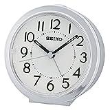 Seiko Unisex Wecker Analog Kunststoff Silber QHE146S