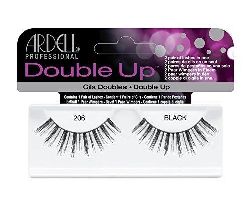 Ardell Professional Double Up Paire de cils 100 % cheveux humains 206 Noir