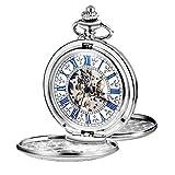 Best Relojes esqueleto - TREEWETO - Reloj de Bolsillo para Hombre y Review