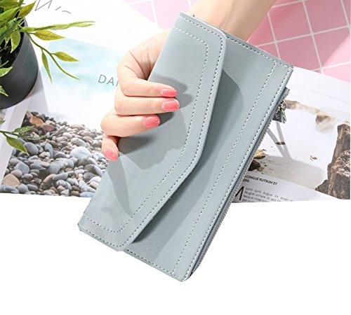 ModaKeusu TM Frauen Blocking Wallet-Clutch Scheckheft Brieftasche f¨¹r Frauen-Shield gegen Identit?tsdiebstahl (Scheckheft Brieftasche Tasche)