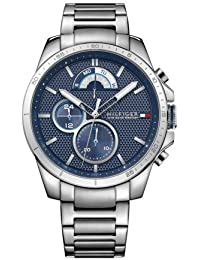 Tommy Hilfiger Analog Blue Dial Men's Watch - TH1791348J