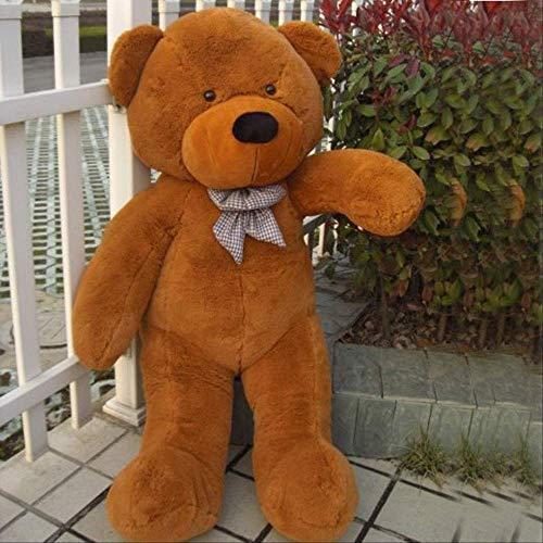 ahzha Bär Plüschtier, Teddybär Puppe, Umarmung Bär übergroßen, Baby Schlaf Geburtstagsgeschenk 1pc 140cm braun