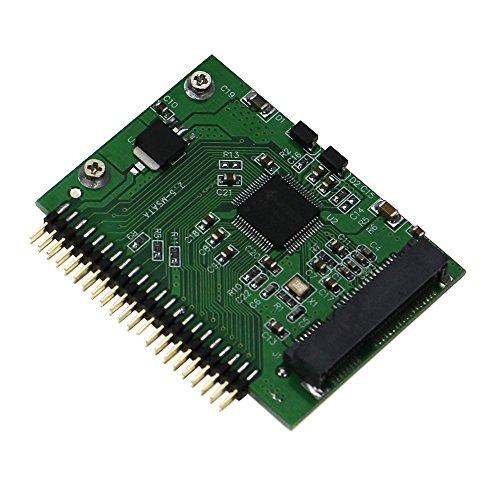 SEDNA - SSD mSATA di 4,57 cm 44pin IDE Adattatore convertitore biglietto