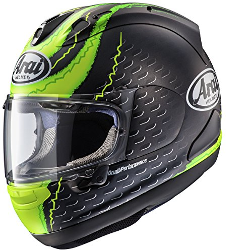 Arai RX-7V Crutchlow Yellow - (S) - Full Face Motorcycle Helmet