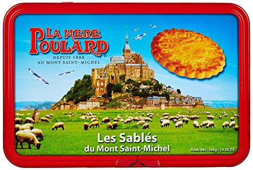Biscuiterie Mère Poulard Boîte à Sucre Sablés 300 g