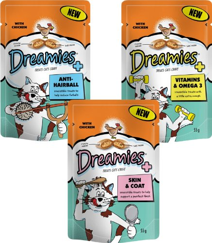Dreamies-Cat-Treats-New-Care-Range-1-of-each-pack