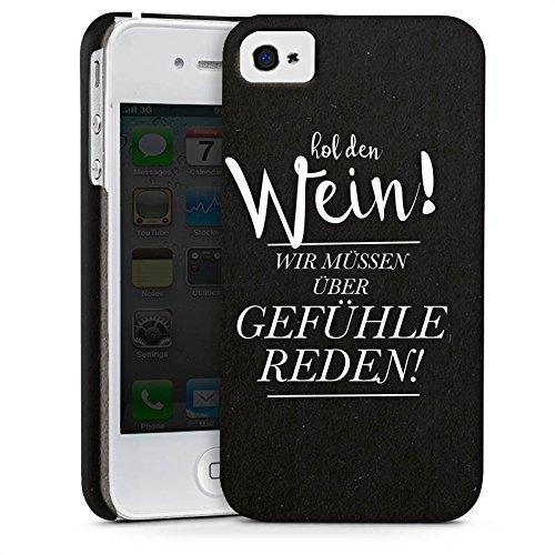 Apple iPhone X Silikon Hülle Case Schutzhülle Gefühle Liebe Sprüche Premium Case glänzend