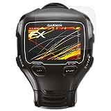 atFoliX Folie für Garmin Forerunner 910XT Displayschutzfolie - 3 x FX-Antireflex-HD hochauflösende entspiegelnde Schutzfolie