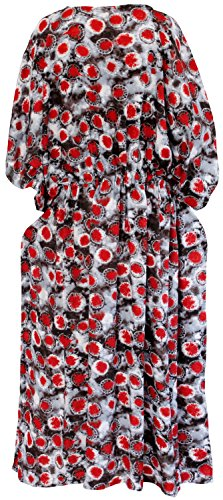 La Leela rayonne blouse maillots de bain bikini Beachwear femmes couvrir robe haut caftan caftan Noir