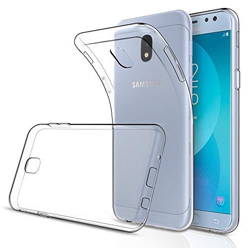 Funda Samsung Galaxy J3 2017,Simpeak Fundas Transparente Samsung Galaxy J3 2017 Carcasa Samsung Galaxy J3 2017 funda (5,0 Pulgadas) Silicona TPU Case, Cover Samsung Galaxy J3 2017