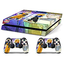 Skin PS4 HD DRAGONBALL GT TRUNKS GOHAN c - limited edition DECAL COVER ADHESIVO playstation 4 SONY BUNDLE