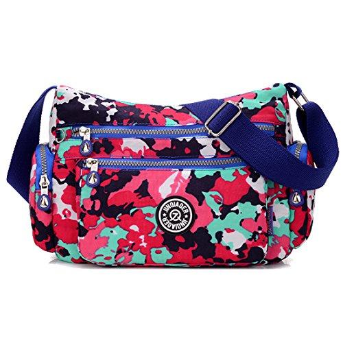 Supa Moden–Borsa a tracolla a tracolla leggero utile Daily PAC Large Handle borsa, donna, Star Charm