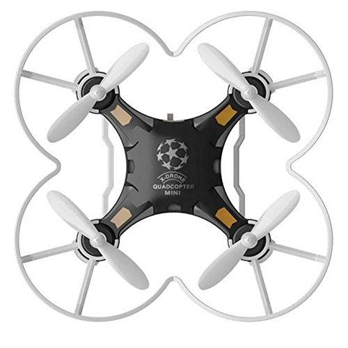 Frame Mini Anhänger (Zantec Kinder Spielzeug Pocket Drone mit Fernbedienung Sender Mini Quadcopter RC Hubschrauber schwarz)