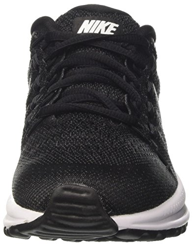 Nike Wmns Air Zoom Vomero 12, Scarpe da Corsa Donna Nero (Black/White/Anthracite)