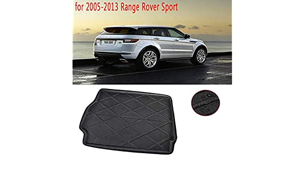 ZYHW Automotive Cargo Liners Rear Trunk Tray Boot Liner Cargo Floor Mat for 2005-2013Range Rover Sport