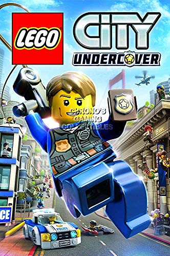 "PALOMA NIEVES CGC Huge Poster - Lego City Undercover PS4 Xbox ONE Nintendo Switch Wii U - EXT644 (24"" x 36\"" (61cm x 91.5cm))"