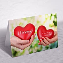 Krazzy Kollections Special Promise Day Greeting Card| Happy Promise Day Greeting Cards | Love Greeting Cards | Valentines Special Greetings Cards |