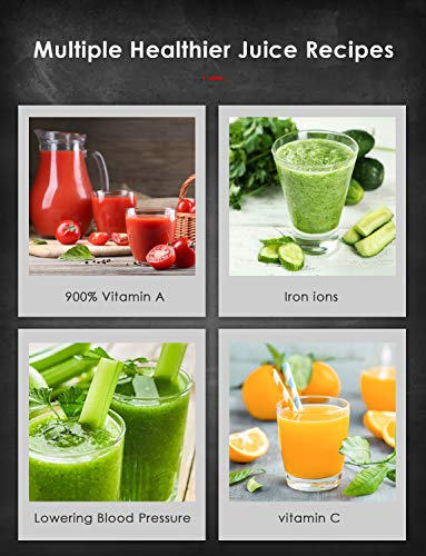 Entsafter – Obst und Gemüse Slow Juicer Bild 5*