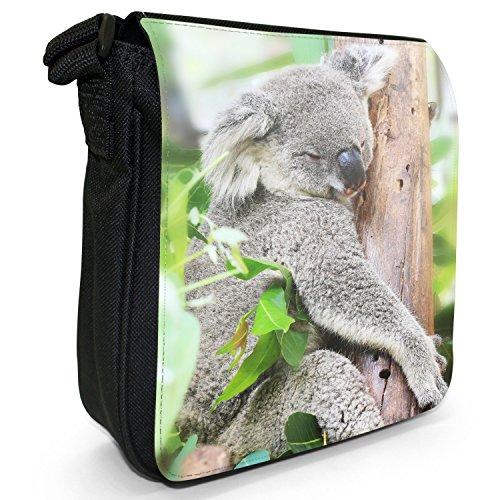 Fancy A Snuggle, Borsa a tracolla donna Grauer Koala hoch in den Baumwipfeln