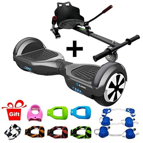 """patinete eléctrico """"hoverboard"""" con Kart"""
