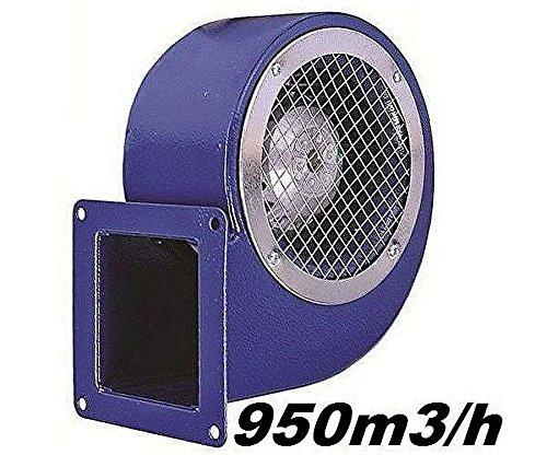SG160E Industrie Radialgebläse 950m³Kessel Lüfter Radial Abluftgebläse Ablüfter Motor Gebläse Lüfter Metall 230 Volt Ventilator Kesselgebläse Abluft Motor Gebläse Lüfter -