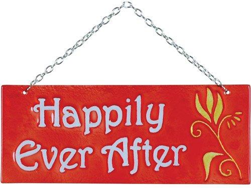 Premier Kites 81135Glas expression Hängendes Banner, Happily Ever - Happily Ever After Kostüm