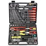 Famex - Caja de herramientas universal (144-FX-55, 168 piezas)