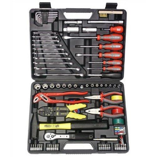 FAMEX Universal-Werkzeugkoffer »144-FX-55« (168-tlg.)
