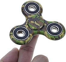 HuntGold Spinner Mano Juguete de camuflaje, Estrés reductor EDC, Perfecto para ansiedad niños / adultos