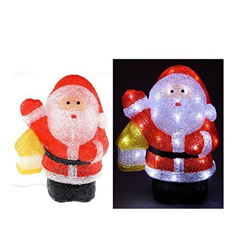 Fomax Père Noël Lumineux à 48 LED - extérieur