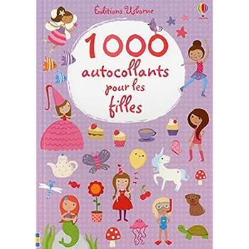 1000 autocollants pour les filles