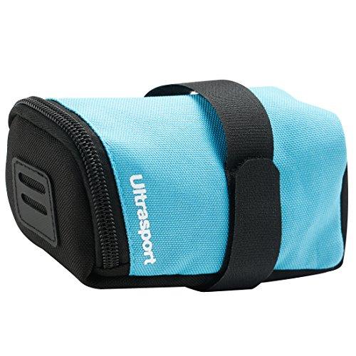 Ultrasport Fahrrad Satteltasche, 0,5 L Fassungsvermögen, z. B. für den Transport von Werkzeug oder Portmonee, passend für alle gängigen Fahrräder, blau