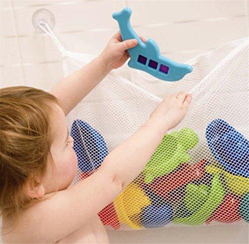 Lomire Kinder Badezimmer Spielzeug Lagerung Baby Badespielzeug Net Saugbeutel Badezimmer Spielzeug Tasche 45 * 35 cm